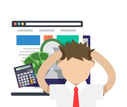 Complicated Bank Websites
