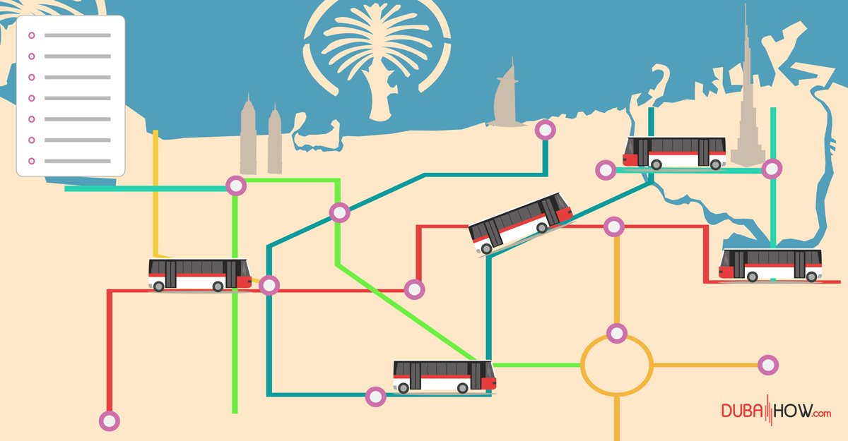 Dubai Bus Routes List - RTA Bus Routes (2019 UPDATED)