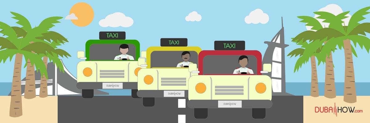 Dubai Taxi - Public Transport