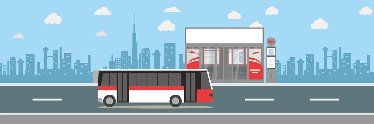 Public Transport: Bus Dubai