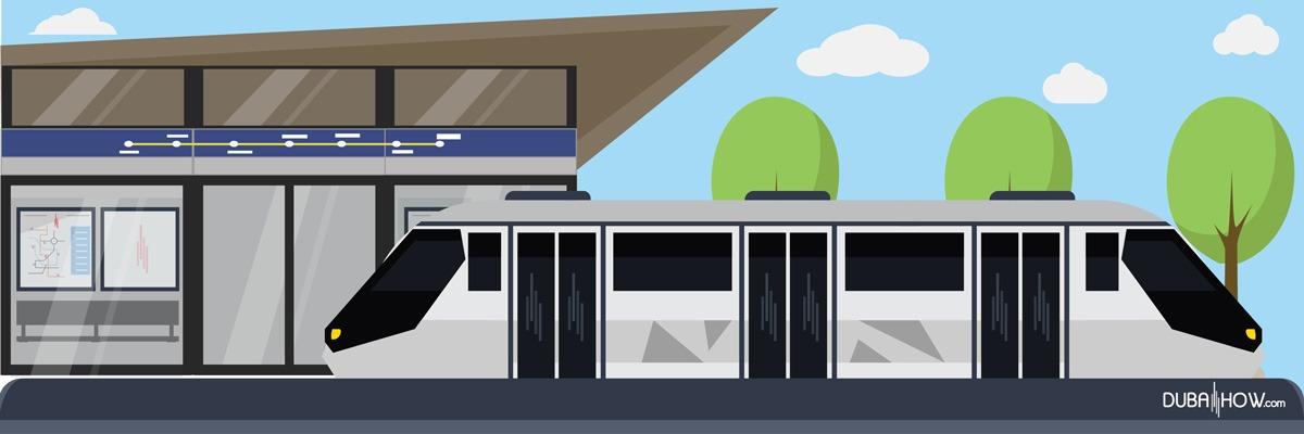 Public Transport: Metro Dubai